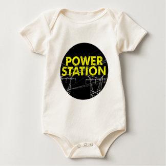 Power Station-logo.png Baby Bodysuit