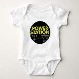 Power Station-logo romper