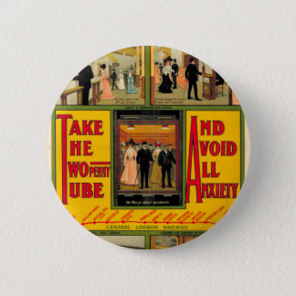 Power station London (I had) Railway, by unknown Pinback Button