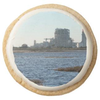 Power Station Round Premium Shortbread Cookie