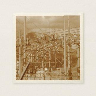 Power Station Paper Napkin
