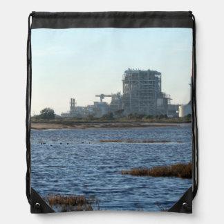 Power Station Drawstring Bag