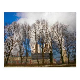 Power Station Pollution 2 Postcard