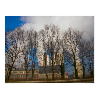Power Station Pollution 2 Poster