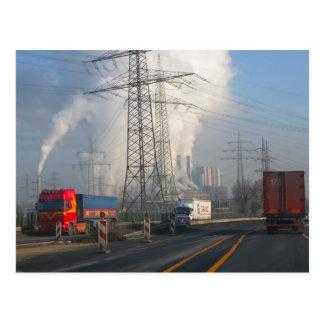 Power Station Pollution 6 Postcard