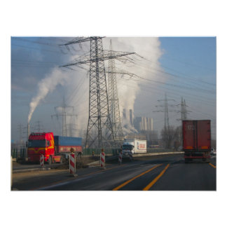 Power Station Pollution 6 Poster