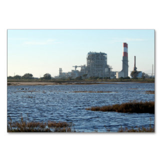 Power Station Table Card