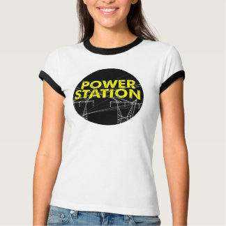 Power Station Title Tee