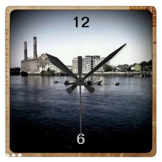 Power Station Wall Clock
