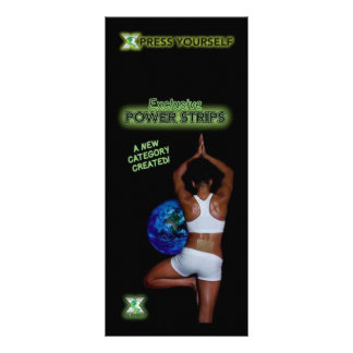 Power Strip Info Card Custom Rack Card