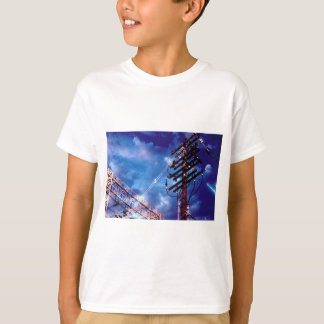 Power substation and pole T-Shirt