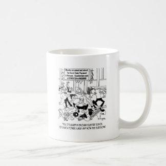 Power Surge Cartoon 7308 Coffee Mug
