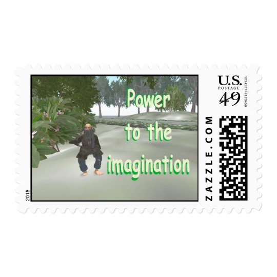 power to the imagination postage