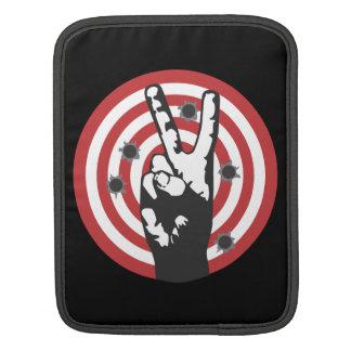 Power To The Peaceful - Bullseye iPad Sleeve
