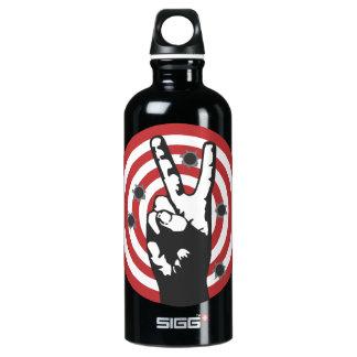 Power To The Peaceful - Bullseye SIGG Traveler 0.6L Water Bottle