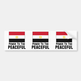 Power to the Peaceful Bumper Stickers