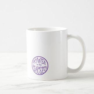 Power to the Peaceful Designs Coffee Mug