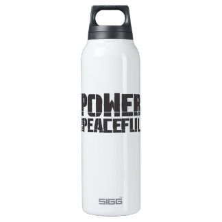 Power To The Peaceful Festival 16 Oz Insulated SIGG Thermos Water Bottle