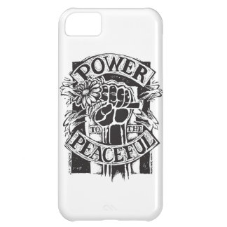 Power To The Peaceful iPhone 5C Covers