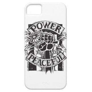Power To The Peaceful iPhone SE/5/5s Case