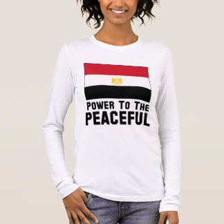 Power to the Peaceful Long Sleeve T-Shirt