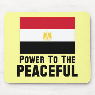 Power to the Peaceful Mouse Pad