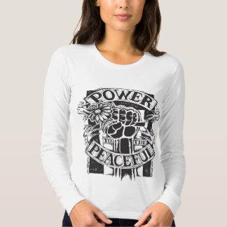 Power To The Peaceful Tee Shirt