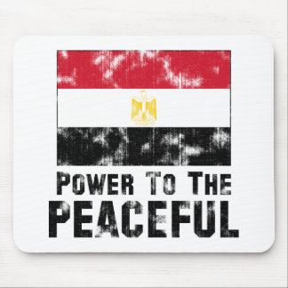 Power to the Peaceful Vintage Mouse Pad