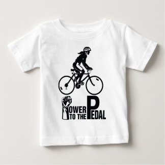 Power To The Pedal Baby T-Shirt