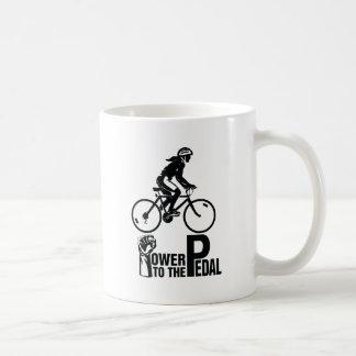 Power To The Pedal Coffee Mug