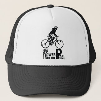 Power To The Pedal Trucker Hat
