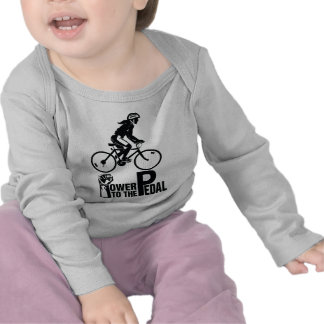 Power To The Pedal T Shirt