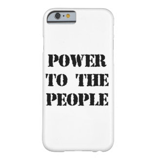 Power to the People Barely There iPhone 6 Case