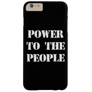 Power to the People Barely There iPhone 6 Plus Case