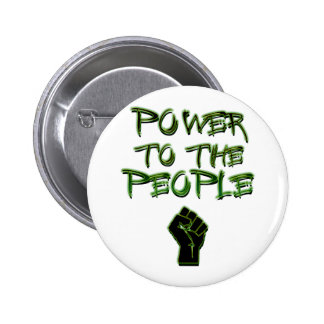 Power to the People! Pins