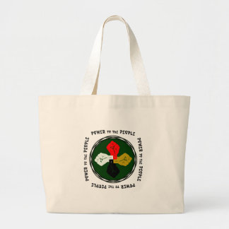 Power to the People Egypt Large Tote Bag