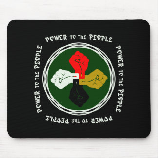 Power to the People Egypt Mouse Pad