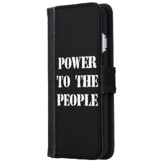 Power to the People iPhone 6/6s Wallet Case