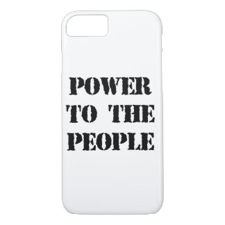 Power to the People iPhone 8/7 Case