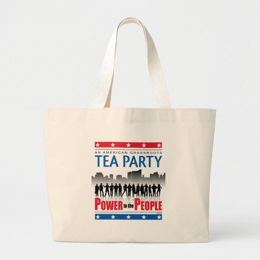 Power To The People Jumbo Tote Bag