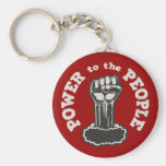 Power to the People Key Chain