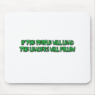 power to the people mouse pad