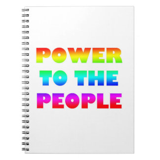 Power to the People Notebook