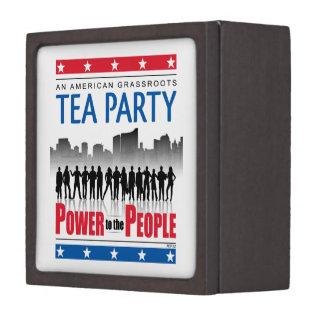 Power To The People Premium Jewelry Box