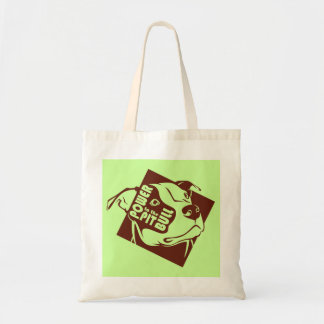 Power to the Pit Bull Canvas Bags