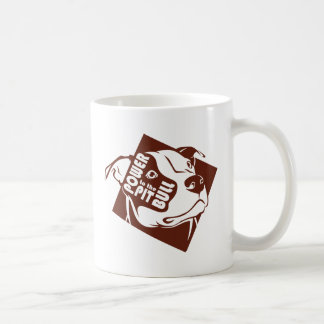 Power to the Pit Bull Classic White Coffee Mug