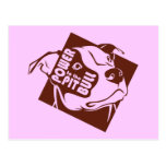Power to the Pit Bull Postcard