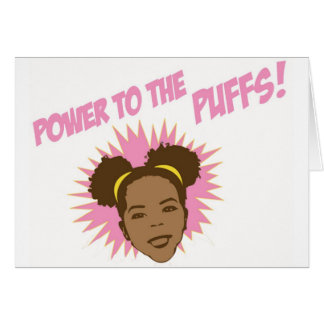 Power to the Puffs Note Cards
