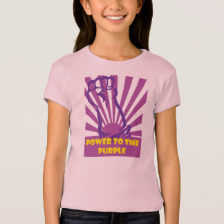Power to the purple T-Shirt