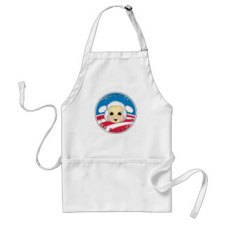 Power To The Sheeple (Obama) Adult Apron
